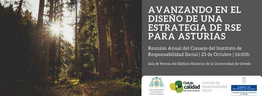 Reunión: Avanzando en el diseño de una Estrategia de RSE para Asturias