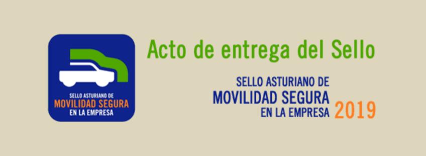 Acto de entrega del Sello Asturiano de Movilidad Segura en la Empresa (3ª edición)