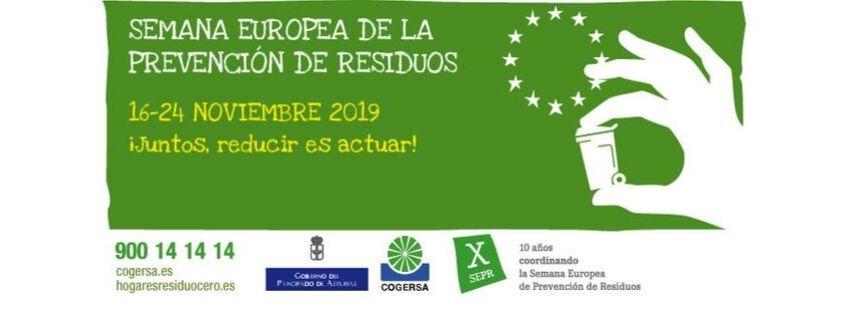 Semana Europea de Prevención de Residuos 2019