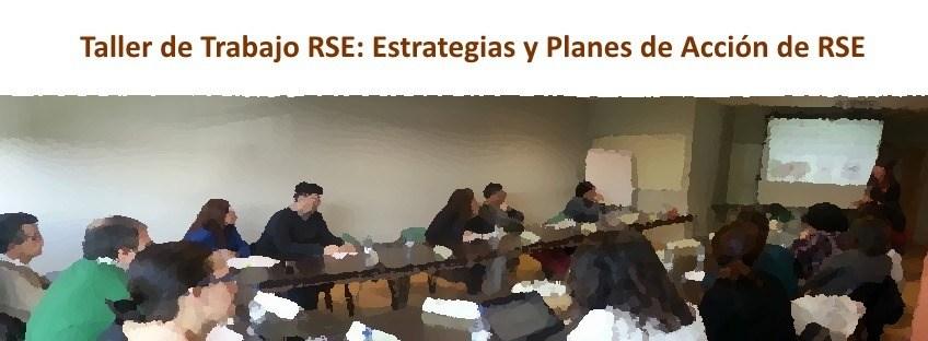 IRS: Taller de Trabajo RSE: Estrategias y Planes de Acción de RSE