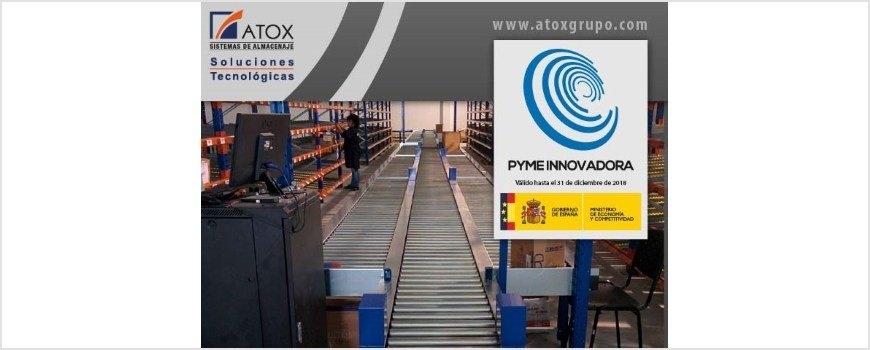 Atox sistemas de almacenaje obtiene el sello pyme innovadora club asturiano de calidad - Sistemas de almacenaje ...