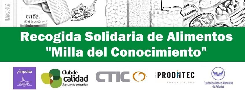 """Recogida Solidaria de Alimentos """"Milla del Conocimiento"""""""