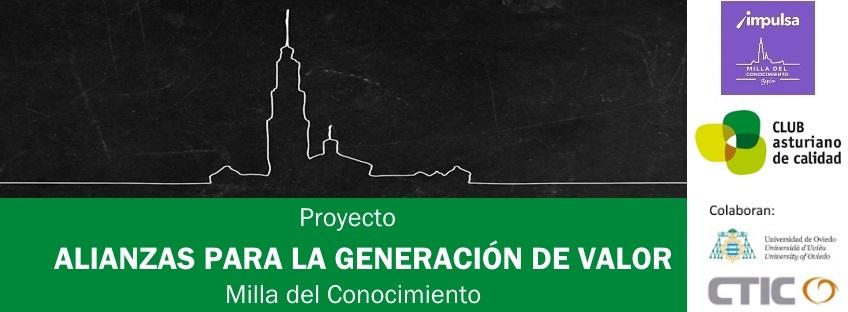 """Proyecto  """"Alianzas para la Generación de Valor"""" – Milla del Conocimiento"""