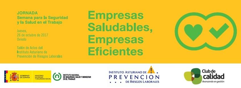 Jornada: Empresas Saludables, Empresas Eficientes