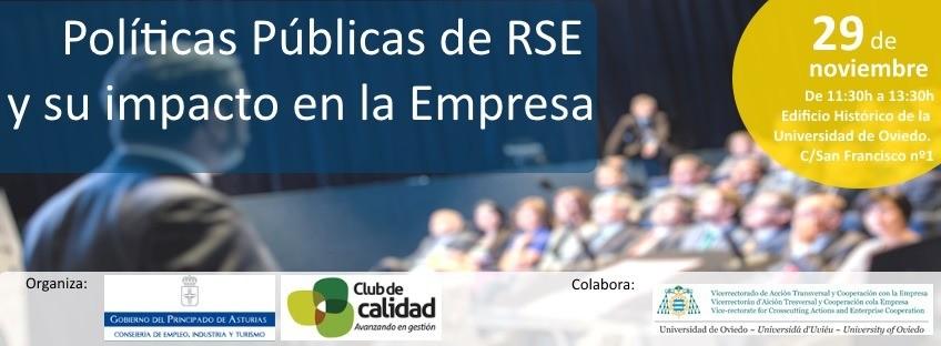 """Jornada: """"Políticas Públicas de RSE y su impacto en la empresa"""""""