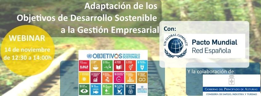 Webinar: Adaptación de los Objetivos de Desarrollo Sostenible a la Gestión Empresarial