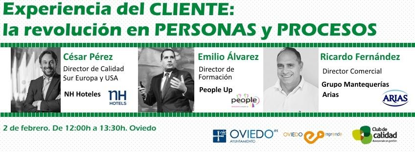 """Jornada Oviedo Emprende: """"Experiencia del Cliente: la revolución en personas y procesos"""""""