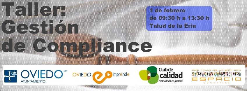 "Taller gratuito: ""Gestión de Compliance"". Oviedo Emprende"