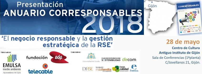 Presentación del Anuario Corresponsables 2018 – Gijón