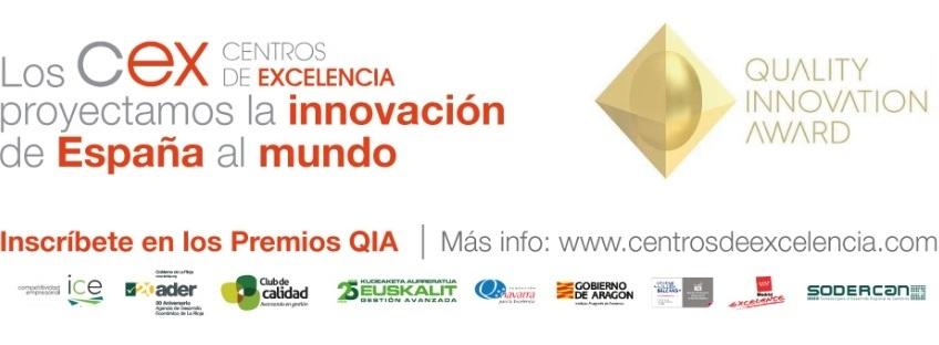 QIA  Premios Quality Innovation Award (QIA) 2018