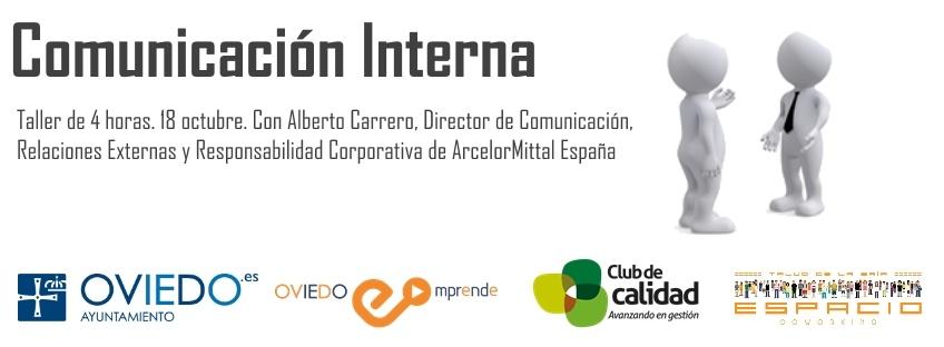 """Taller gratuito """"Comunicación Interna"""". Oviedo Emprende"""