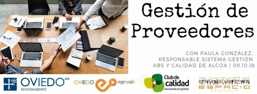 Taller gratuito: Gestión de Proveedores. Oviedo Emprende