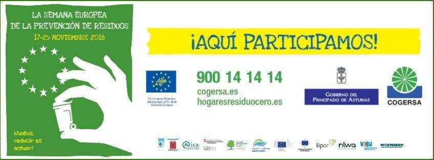 Semana Europea de Prevención de Residuos 2018