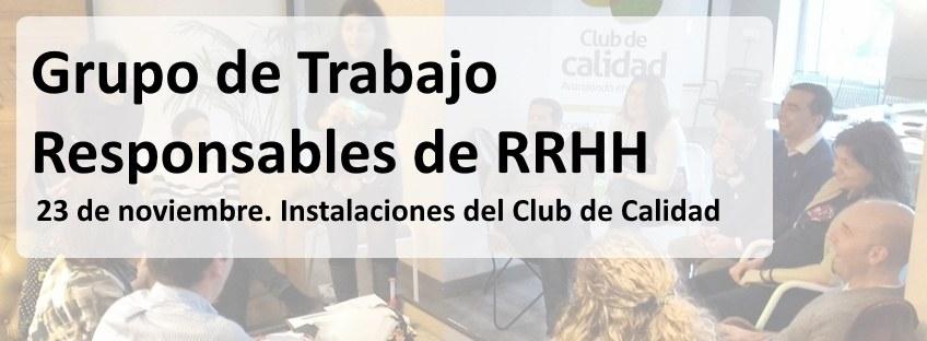 Grupo de Trabajo de Responsables de RRHH