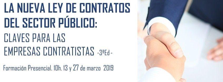 Curso: La Nueva Ley de Contratos del Sector Público: Claves para las Empresas Contratistas. 3ª ed