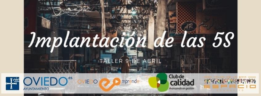 """Taller gratuito """"Implantación de las 5S"""". Oviedo Emprende"""