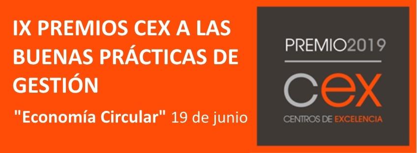 Ceremonia Premio CEX 2019