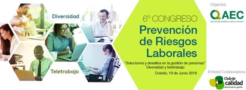 6º Congreso Prevención de Riesgos Laborales AEC