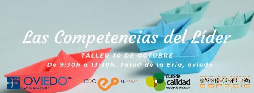 """Taller gratuito """"Las Competencias del Líder"""". Oviedo Emprende"""
