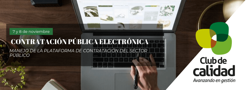 Curso: Contratación Pública Electrónica