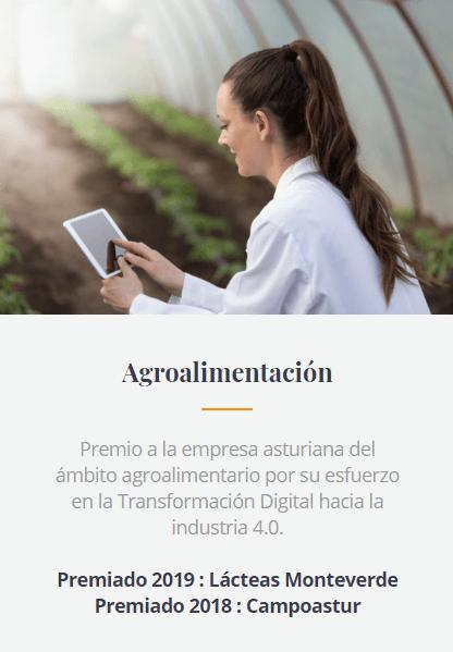 Industrias Lácteas Monteverde - Premio Industria 4.0 2019