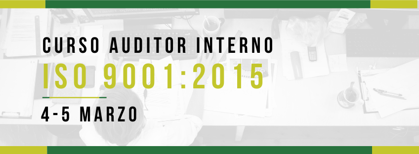 Curso: Auditor Interno ISO 9001:2015
