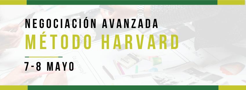 Curso: Negociación Avanzada. Método Harvard. 6ª ed.