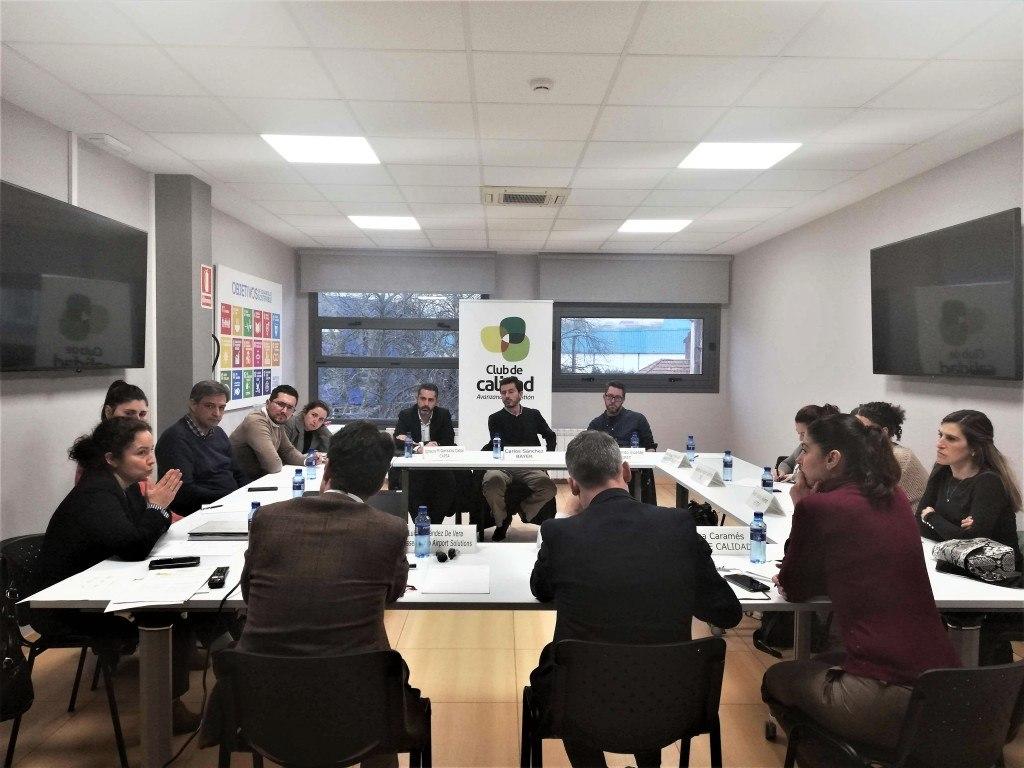 Primera reunión del Grupo de Trabajo de Seguridad y Salud