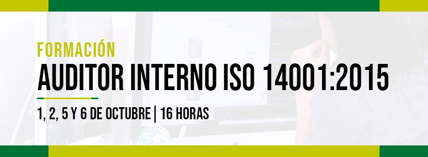 Formación: Auditor Interno ISO 14001:2015
