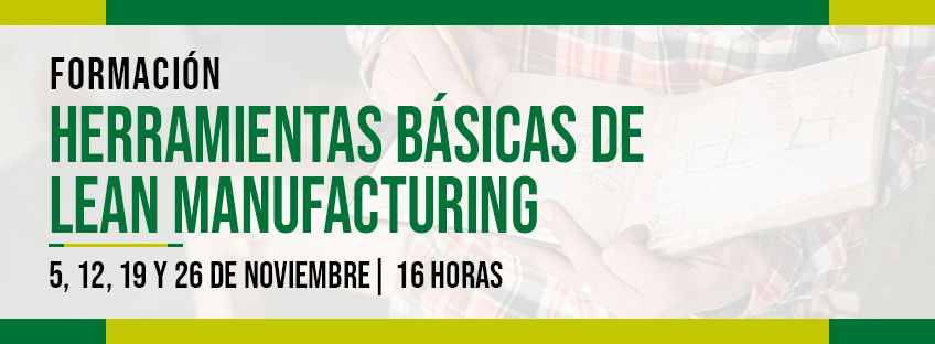 Formación: Herramientas básicas de Lean Manufacturing