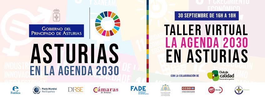 Taller virtual: La Agenda 2030 en Asturias